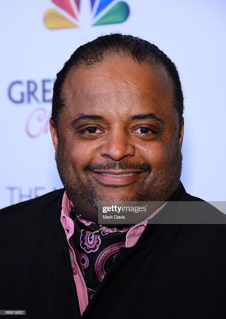 Journalist <a gi-track='captionPersonalityLinkClicked' href=/galleries/search?phrase=Roland+Martin&family=editorial&specificpeople=5490103 ng-click='$event.stopPropagation()'>Roland Martin</a> arrives at the 44th NAACP Image Awards after party held at the Millennium Biltmore Hotel on February 1, 2013 in Los Angeles, California.