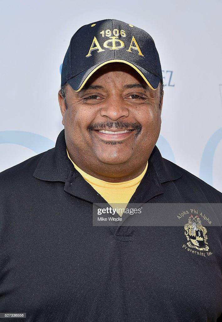 Journalist Roland Martin attends the 9th Annual George Lopez Celebrity Golf Classic to benefit The George Lopez Foundation at Lakeside Golf Club on May 2, 2016 in Burbank, California.