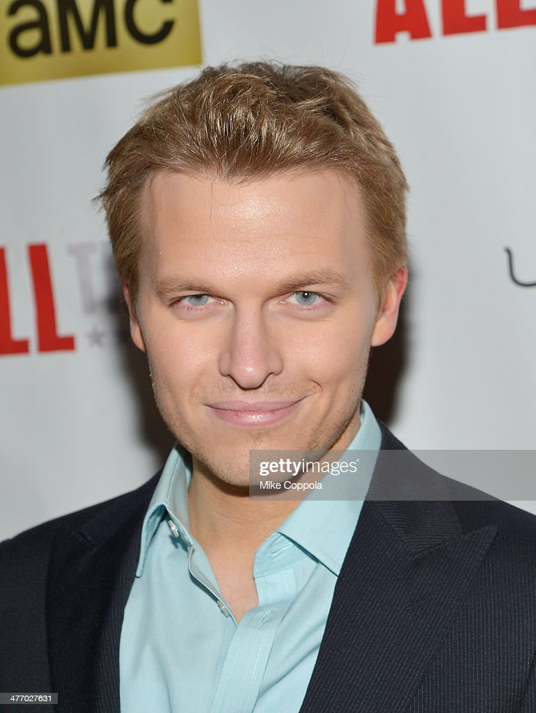 Journalist <a gi-track='captionPersonalityLinkClicked' href=/galleries/search?phrase=Ronan+Farrow&family=editorial&specificpeople=557294 ng-click='$event.stopPropagation()'>Ronan Farrow</a> attends 'All The Way' opening night at Neil Simon Theatre on March 6, 2014 in New York City.
