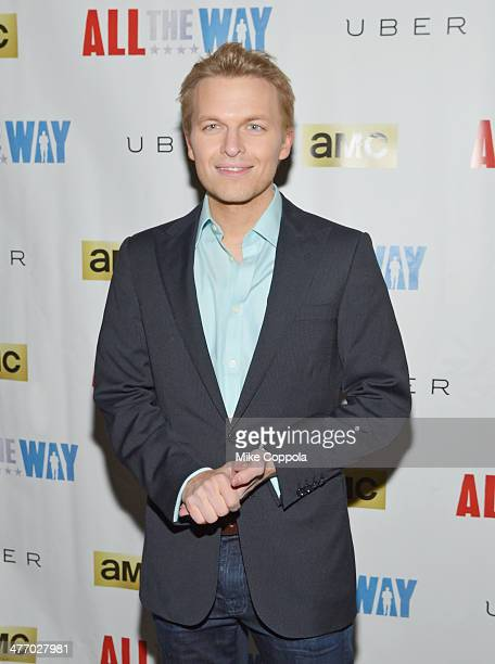 Journalist Ronan Farrow attends 'All The Way' opening night at Neil Simon Theatre on March 6 2014 in New York City