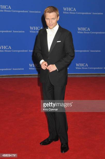 Journalist Ronan Farrow attends the 100th Annual White House Correspondents' Association Dinner at the Washington Hilton on May 3 2014 in Washington...