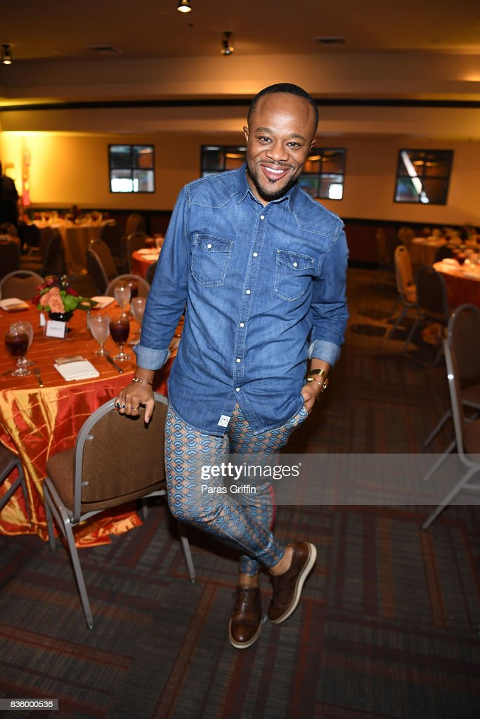 Journalist Satchel Jester at Upscale Magazine's Brunch Style featuring Vivian Green on August 20, 2017 in Atlanta, Georgia.