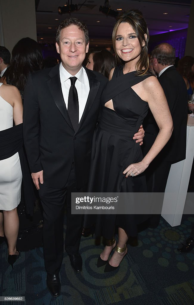 Journalist Savannah Guthrie (L) and Michael Feldman attend the Yahoo News/ABC News White House Correspondents' Dinner Pre-Party at Washington Hilton on April 30, 2016 in Washington, DC.