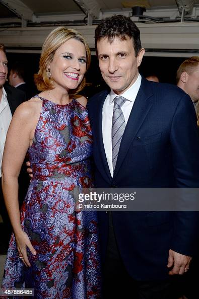 Journalist Savannah Guthrie and The New Yorker Editor David Remnick attend the White House Correspondents' Dinner Weekend PreParty hosted by The New...