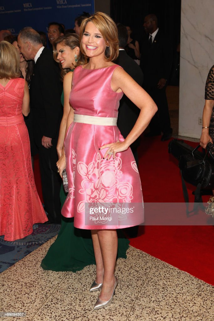 Journalist <a gi-track='captionPersonalityLinkClicked' href=/galleries/search?phrase=Savannah+Guthrie&family=editorial&specificpeople=653313 ng-click='$event.stopPropagation()'>Savannah Guthrie</a> attends the 100th Annual White House Correspondents' Association Dinner at the Washington Hilton on May 3, 2014 in Washington, DC.