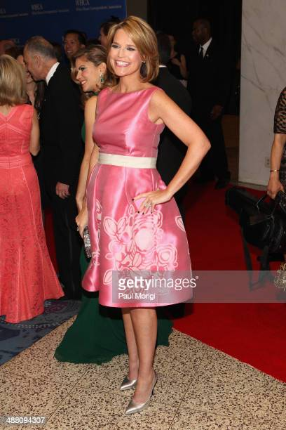 Journalist Savannah Guthrie attends the 100th Annual White House Correspondents' Association Dinner at the Washington Hilton on May 3 2014 in...