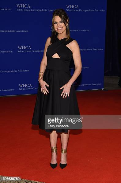 Journalist Savannah Guthrie attends the 102nd White House Correspondents' Association Dinner on April 30 2016 in Washington DC