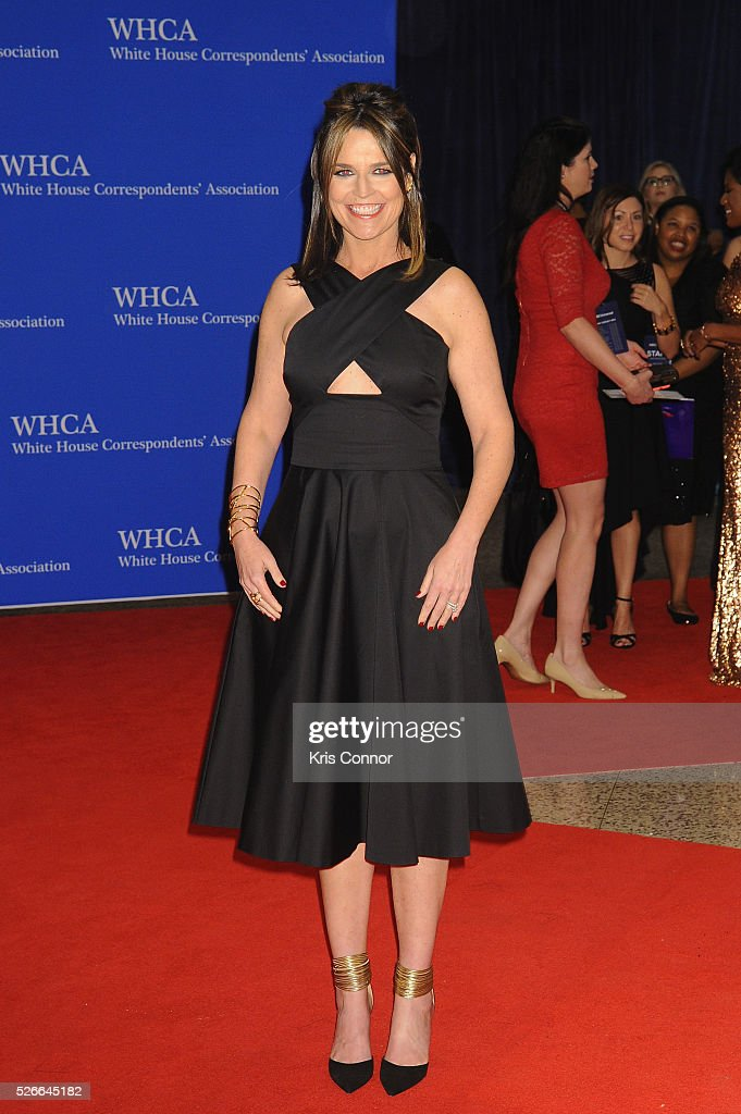 Journalist Savannah Guthrie attends the 102nd White House Correspondents' Association Dinner on April 30, 2016 in Washington, DC.