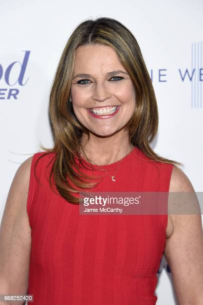 Journalist Savannah Guthrie attends The Hollywood Reporter 35 Most Powerful People In Media 2017 at The Pool on April 13 2017 in New York City