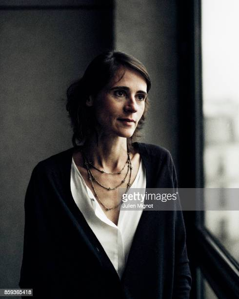 Journalist Sonia Devillers is photographed for Self Assignment on January 2017 in Paris France