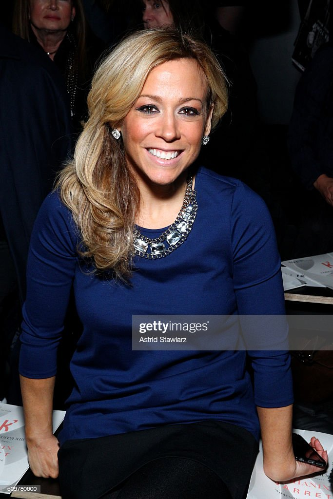 Journalist Stephanie Simon attends the Concept Korea Fall 2016 fashion show during New York Fashion Week: The Shows at The Dock, Skylight at Moynihan Station on February 12, 2016 in New York City.