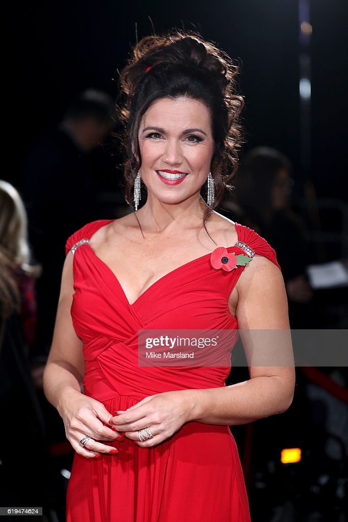 Journalist Susanna Reid attends the Pride Of Britain Awards at The Grosvenor House Hotel on October 31, 2016 in London, England.