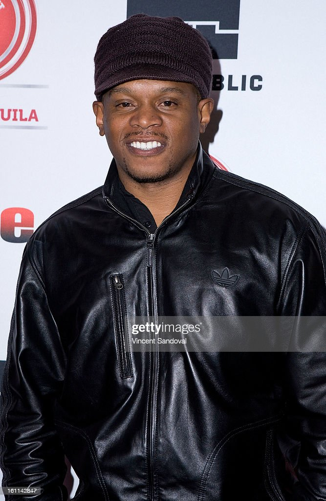 Journalist Sway Calloway attends VIBE Magazine's 20th anniversary celebration with inaugural impact awards - Arrivals at Sunset Tower on February 8, 2013 in West Hollywood, California.