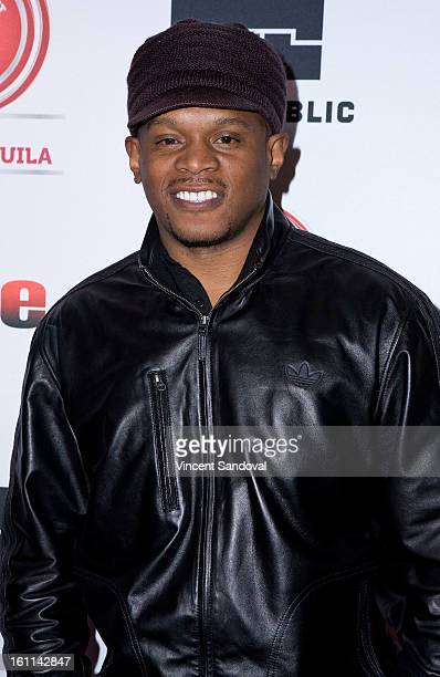 Journalist Sway Calloway attends VIBE Magazine's 20th anniversary celebration with inaugural impact awards Arrivals at Sunset Tower on February 8...