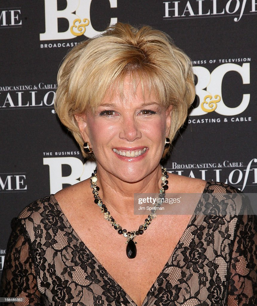 Journalist/ Television Host <a gi-track='captionPersonalityLinkClicked' href=/galleries/search?phrase=Joan+Lunden&family=editorial&specificpeople=206769 ng-click='$event.stopPropagation()'>Joan Lunden</a> attends at 2012 Broadcasting & Cable Hall Of Fame Awards The Waldorf Astoria on December 17, 2012 in New York City.