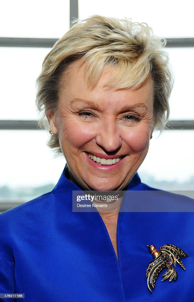 Journalist Tina Brown attends the 9th Annual American Institute For Stuttering Benefit Gala at The Lighthouse at Chelsea Piers on June 8, 2015 in New York City.