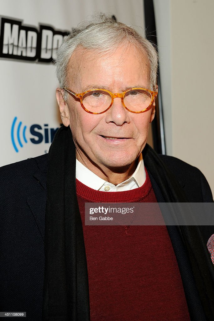 Journalist <a gi-track='captionPersonalityLinkClicked' href=/galleries/search?phrase=Tom+Brokaw&family=editorial&specificpeople=203263 ng-click='$event.stopPropagation()'>Tom Brokaw</a> visits SiriusXM Studios on November 21, 2013 in New York City.