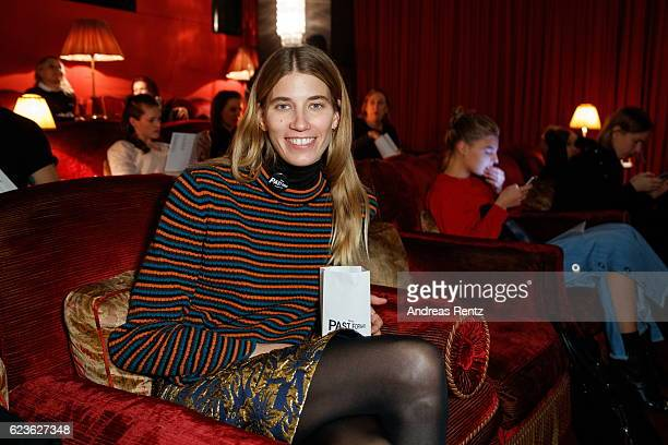 Journalist Veronika Heilbrunner attends the press screening of 'Past Forward' a movie by David O Russell presented by Prada on November 16 2016 in...