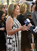 Journalist/executive producer Katie Couric attends the 'Under The Gun' LA premiere featuring Katie Couric and Stephanie Soechtig at Samuel Goldwyn...