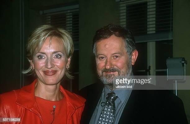 Journalistin Fernsehmoderatorin Nachrichtensprecherin D mit Ehemann Christian Nürnberger 2001