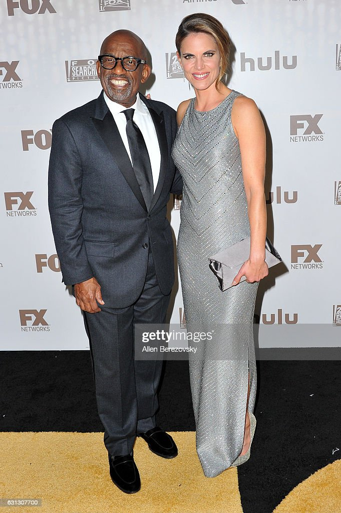 Journalists Al Roker (L) and Natalie Morales attend FOX and FX's 2017 Golden Globe Awards After Party at The Beverly Hilton Hotel on January 8, 2017 in Beverly Hills, California.
