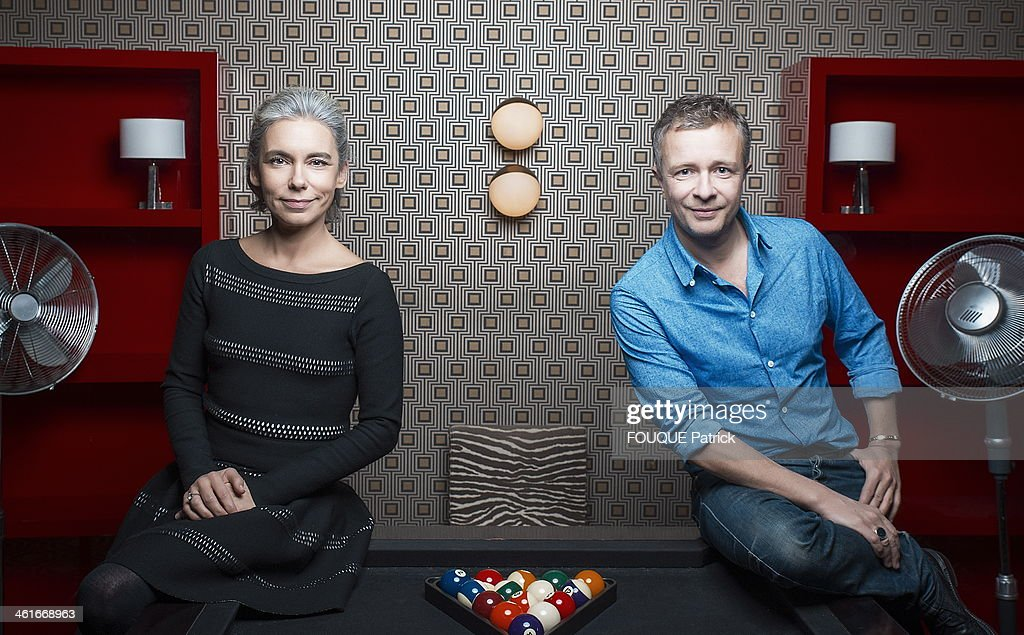 elisabeth quin and laurent goumarre portrait session getty images. Black Bedroom Furniture Sets. Home Design Ideas