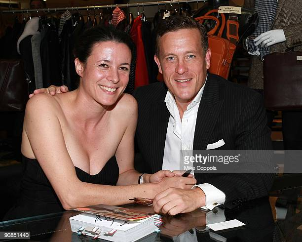 Journalists Garance Dore and Scott Schuman attend the signing of 'The Sartorialist' at Barneys New York on September 15 2009 in New York City