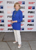Journalist/Television personality Barbara Walters attends the Public Theater's 2014 Gala celebrating 'One Thrilling Combination' on June 23 2014 in...