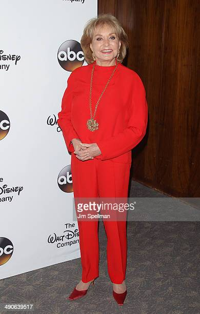 Journalist/tv personality Barbara Walters attends A Celebration of Barbara Walters Cocktail Reception Red Carpet at the Four Seasons Restaurant on...