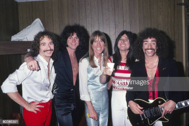 Journey 1979 Steve Smith Gregg Rolie Ross Valory Steve Perry Neal Schom