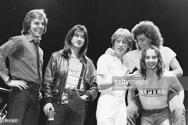 Journey 1981 Jonathan Cain Steve Perry Ross ValoryNeal Schon Steve Smith