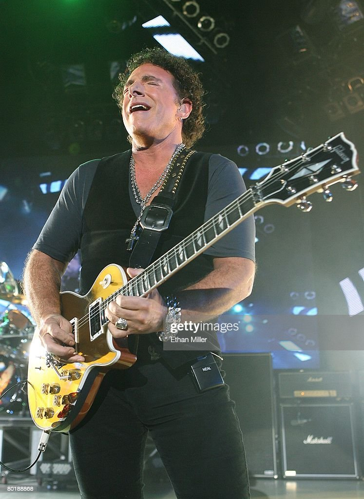 journey in concert at planet hollywood getty images. Black Bedroom Furniture Sets. Home Design Ideas