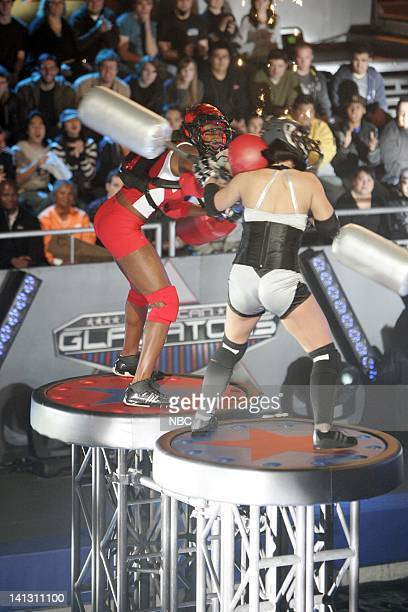 GLADIATORS 'Joust' Episode 1 Aired Pictured Koya Webb Crush Photo by NBCU Photo Bank
