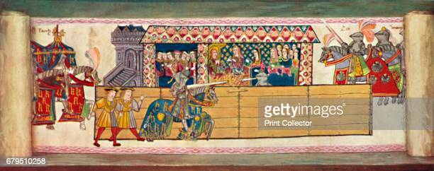 Jousts at Westminster February 13th 1510' From Social England Volume III edited by HD Traill DCL and J S Mann MA [Cassell and Company Limited London...