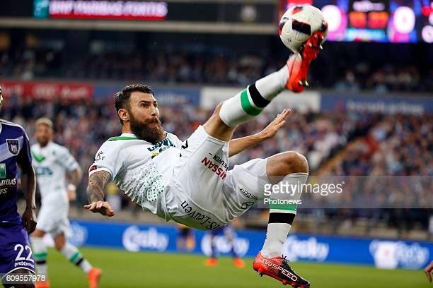 Jovan Kostovski of Ohl pictured during Croky Cup match between RSC Anderlecht and OHL on September 21 2016 in Brussels Belgium