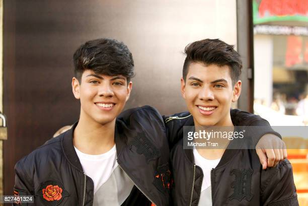 Jovani Jara and Julian Jara arrive at the Los Angeles premiere of New Line Cinema's 'Annabelle Creation' held at TCL Chinese Theatre on August 7 2017...