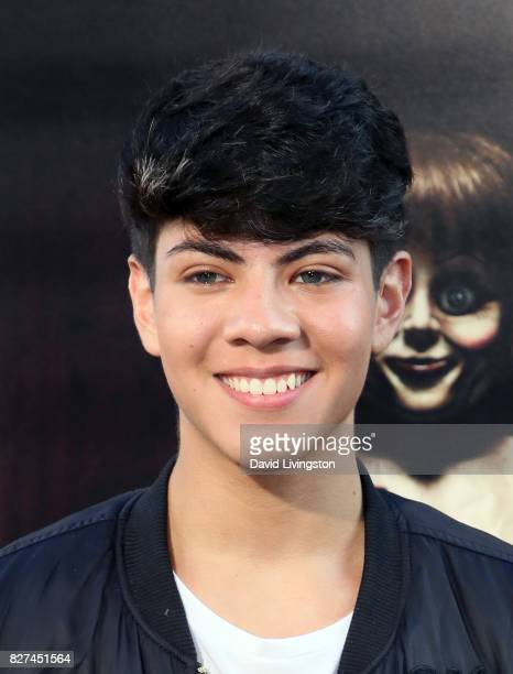 Jovani Jara attends the premiere of New Line Cinema's 'Annabelle Creation' at TCL Chinese Theatre on August 7 2017 in Hollywood California