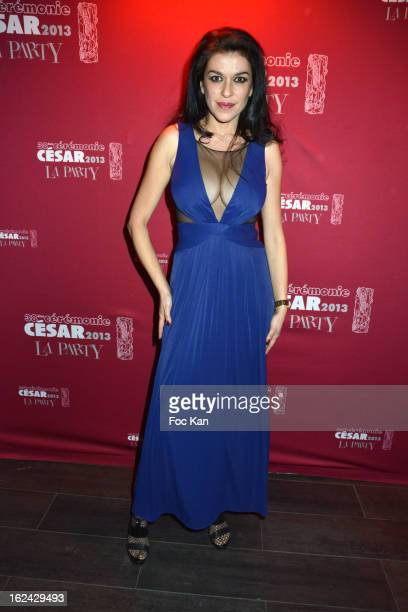 Jovanka Sopalovic attend the Cesar Film Awards 2013 after party at the Club 79 on February 22 2013 in Paris France