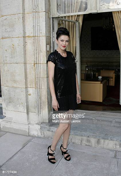 Jovanka Sopalovic attends the launching of the 24eme Fete du Cinema at Ministere de al Culture on June 26 2008 in Paris France