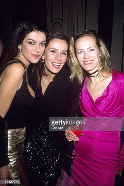 Jovanka Sopalovic Zoe Felix and Gabrielle Lazure during Champagne Ruinart Black and Red St Valentine Party February 1 2006 at Private Hotel Avenue...