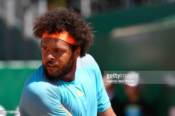 JoWilfried Tsonga of France during the Monte Carlo Rolex Masters 2017 on April 18 2017 in Monaco Monaco