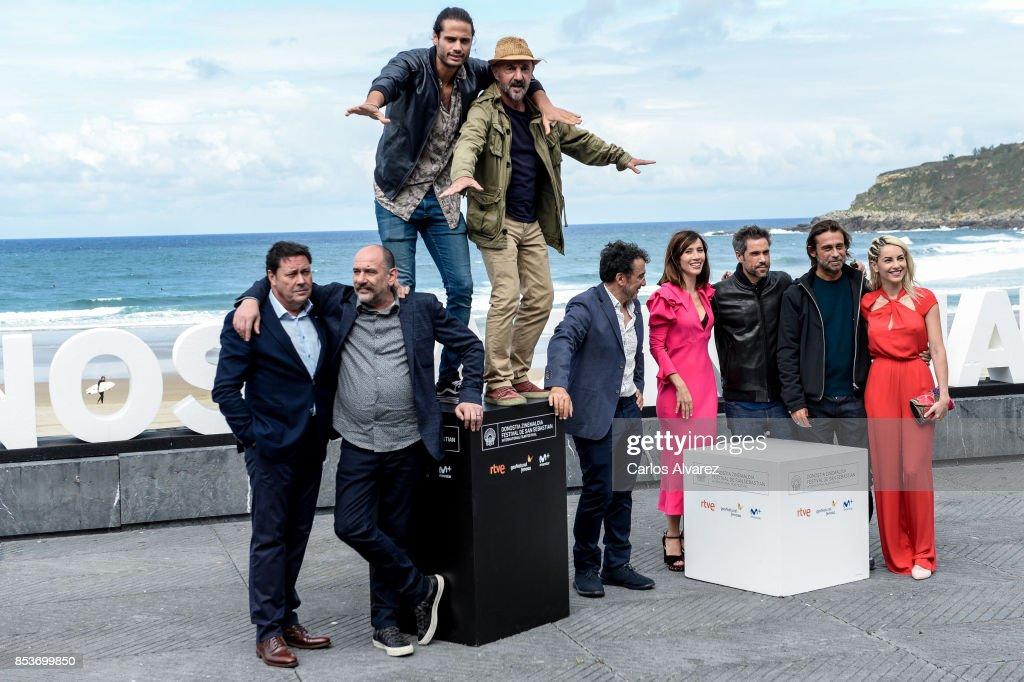'Operacion Concha' Photocall - 65th San Sebastian Film Festival