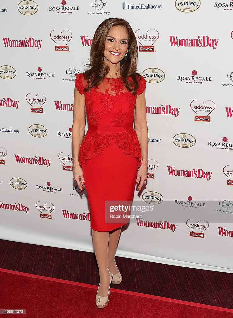 Red dress on red carpet decorating