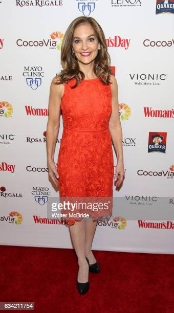 Joy Bauer attends the 14th Annual Red Dress Awards presented by Woman's Day Magazine at Jazz at Lincoln Center Appel Room on February 7 2017 in New...