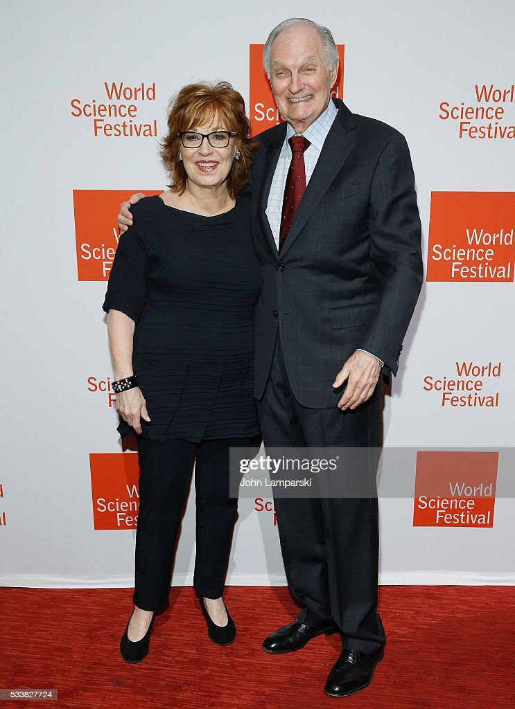 Joy Behar and Alan Alda attend The World Science Festival 2016 Gala at Jazz at Lincoln Center on May 23 2016 in New York City