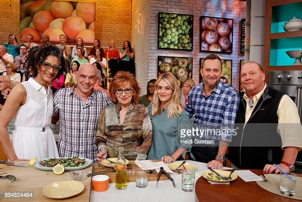 THE CHEW 5/26/16 Joy Behar appears on THE CHEW airing MONDAY FRIDAY on the ABC Television Network BATALI