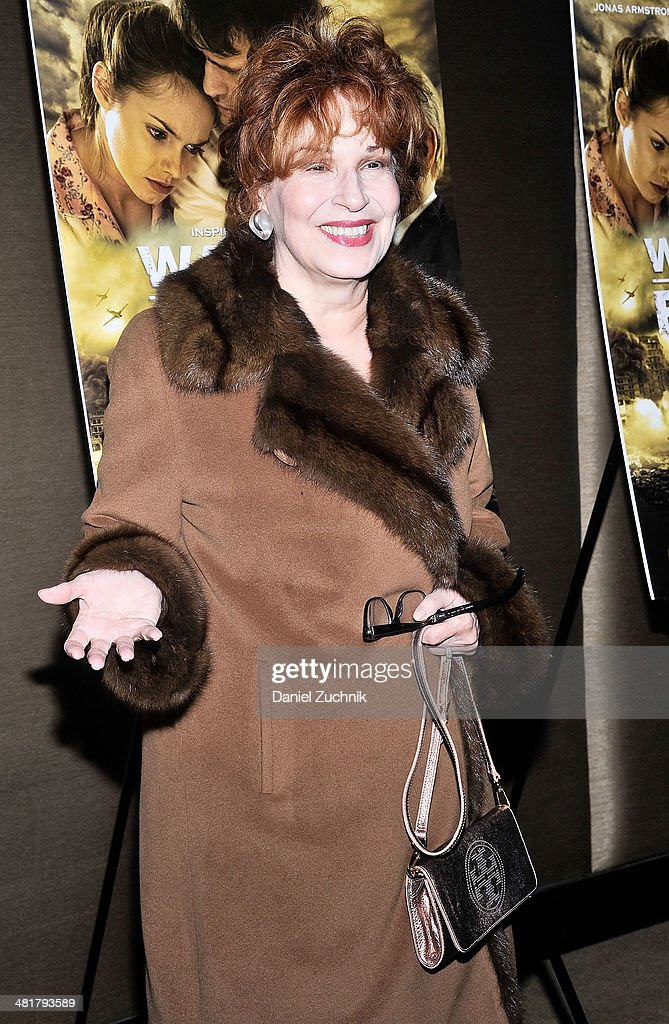 <a gi-track='captionPersonalityLinkClicked' href=/galleries/search?phrase=Joy+Behar&family=editorial&specificpeople=214608 ng-click='$event.stopPropagation()'>Joy Behar</a> attends the 'Walking With The Enemy' screening at Dolby 88 Theater on March 31, 2014 in New York City.