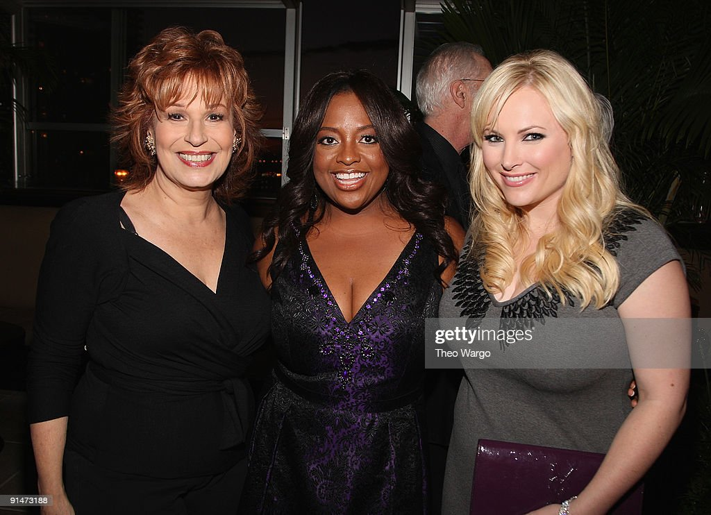 Joy Behar, Sherri Shepherd and Meghan McCain attend the Launch Party for new sitcom 'Sherri' at the Empire Hotel on October 5, 2009 in New York City.