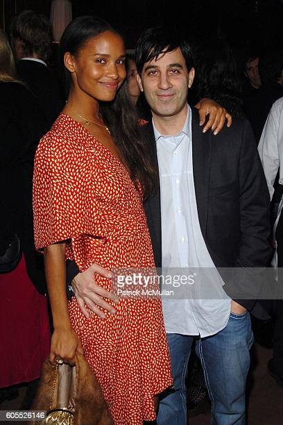 Joy Bryant and Jason Weinberg attend VANITY FAIR Pre Golden Globes Party at Sunset Tower Hotel on January 15 2006 in West Hollywood CA