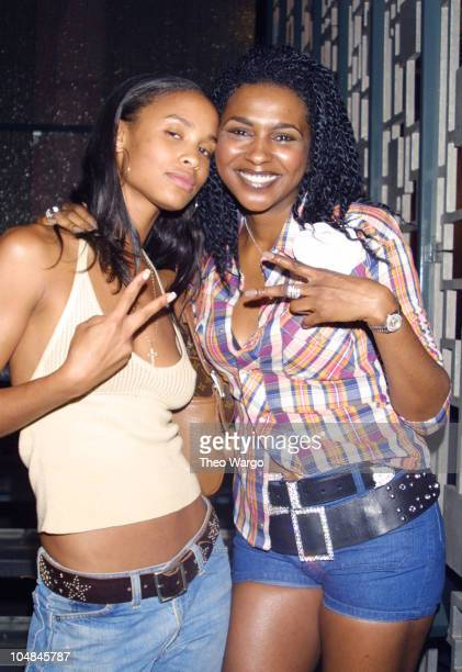 Joy Bryant and Tammy Ford during RICA Benefit Dinner and Auction at Lotus in New York City in New York City New York United States
